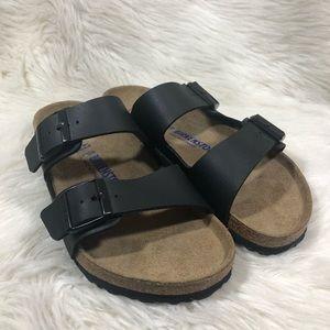 Birkenstock Soft Footbed Black Arizona Sandals